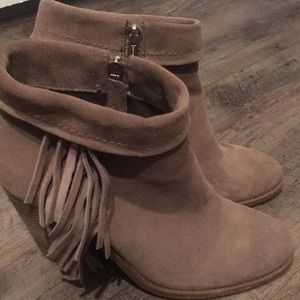 Jessica Simpson leather booties